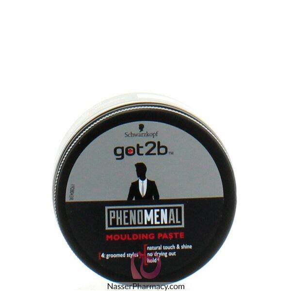 Schwarzkopf Got2b Phenomenal Moulding Paste, 100ml