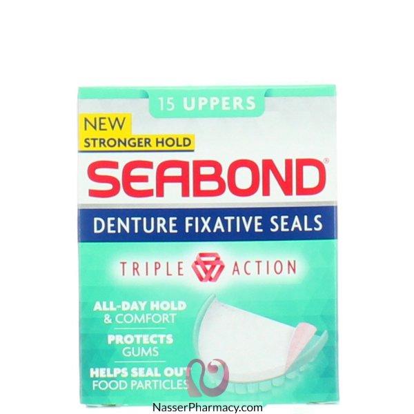 Seabond Denture Fixative Uppers 15-6631