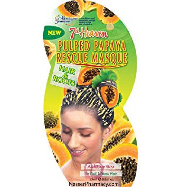 Mj 7th Heav Papaya Hair Rescue Masque