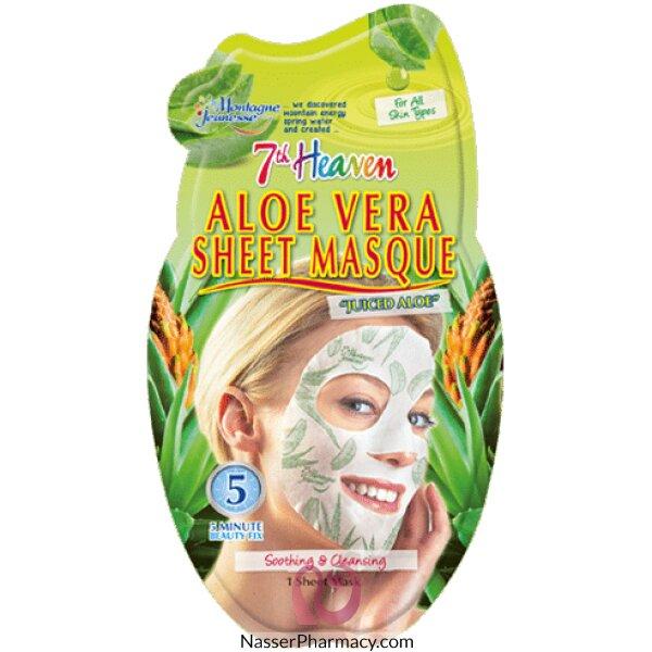 Montagne Jeunesse- 7th Heaven- Aloe Vera Sheet Mask