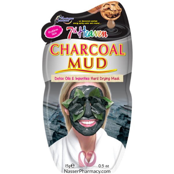 Montagne Jeunesse-7th Heaven- Charcoal Mud Mask