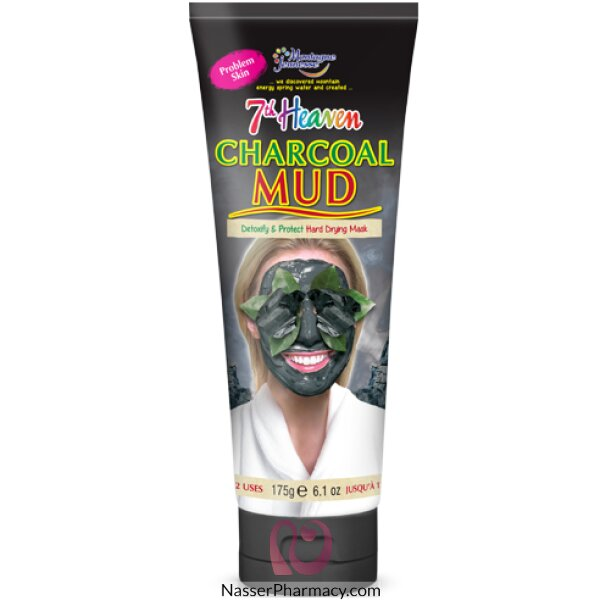 Montagne Jeunesse-7th Heaven- Charcoal Mud Mask-tube 175g