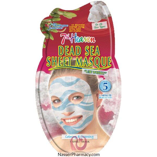Montagne Jeunesse-7th Heaven- Dead Sea Sheet Mask