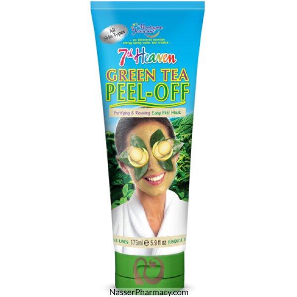 Montagne Jeunesse-7th Heaven- Green Tea Peel Off Mask Tube- 175 Ml
