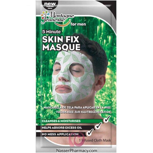 Montagne Jeunesse- 7th Heaven- Mens Fabric Mask-skin Fix