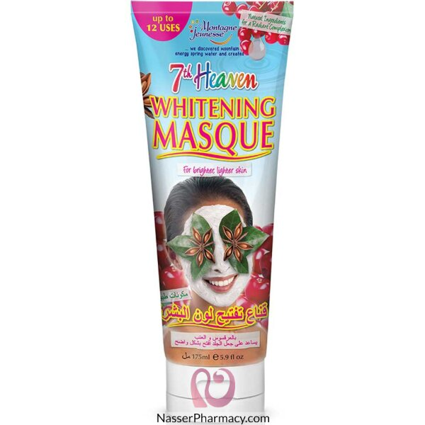 Montagne Jeunesse- 7th Heaven- Whitening Mask Tube 175ml