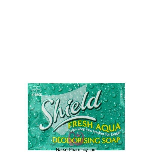 شيلد فريش أكوا Shield  Fresh Aqua صابون إزالة الروائح الكريهة  125 جرام