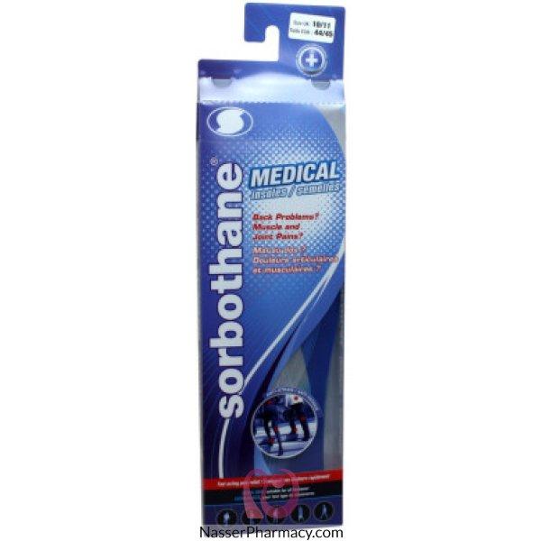 Sorbothane Medical Blue Insoles 6(38/40)