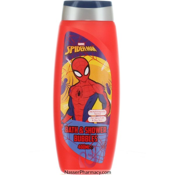 Spiderman Bath & Shower Bubbles 400ml -64936