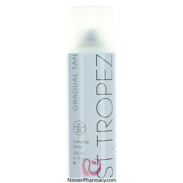 St Tropez اسبراي إضافة لون الى الجسم اليومي - 200 مل