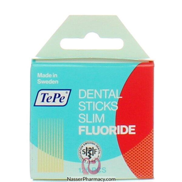 تي بي عصاة تنظيف أسنان رفيعة - 125 قطعة