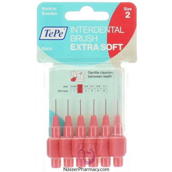 Tepe Interdental Brush  Extra Soft Red Blister 0.5 Mm