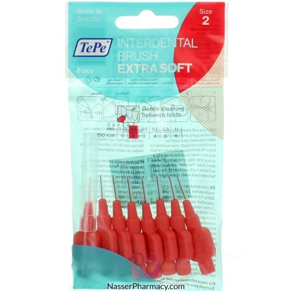 Tepe Interdental Brush Extra Soft/gentle Care Red 0.5mm