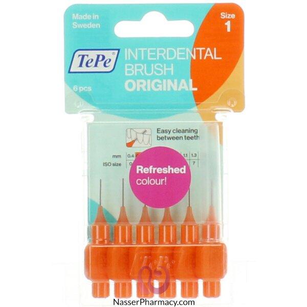 Tepe Interdental Brush Original/gentle Care  Orange Blister 0.45mm