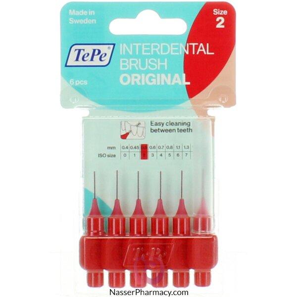 Tepe Interdental Brush Original/gentle Care Red Blister 0.5mm