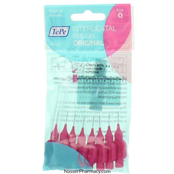 Tepe Interdental Brush Pink 0.4 Blister