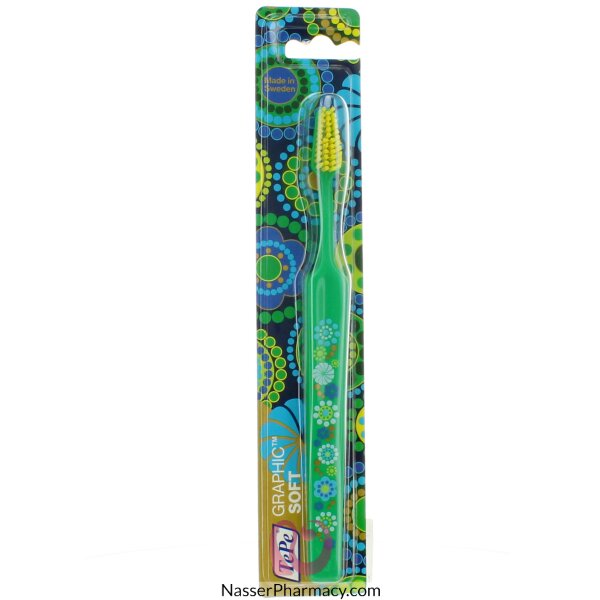 Tepe Tooth Brush Graphic Soft Blister