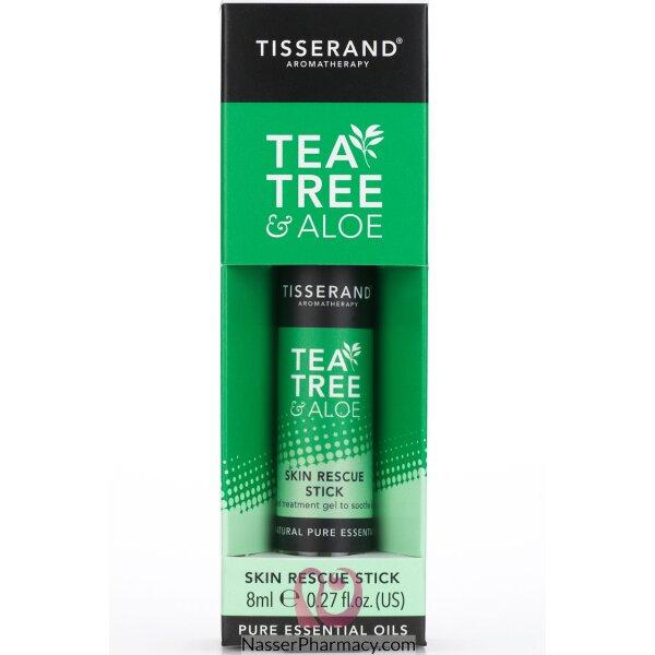 تيسراند ستيك بخلاصة شجرة الشاي والألوفيرا للتخلص من شوائب البشرة 8 مل