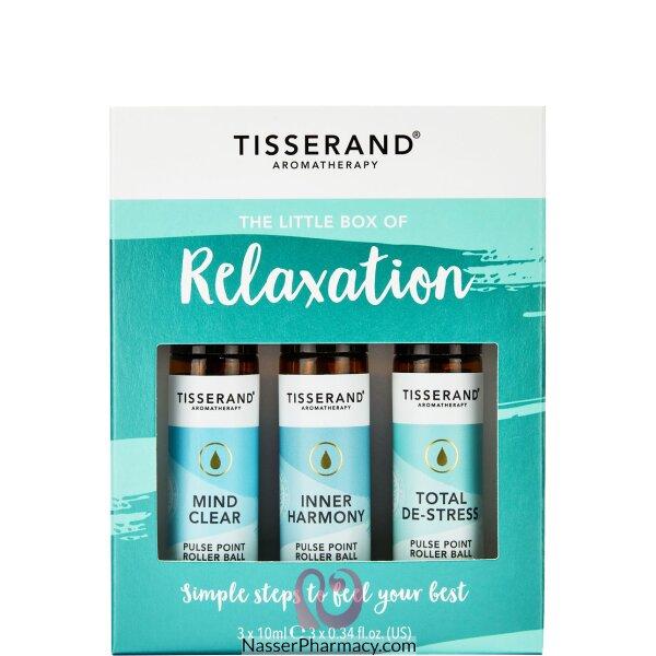 تيسراند Relaxation مجموعة  زيوت  كرة دوارة 3 عبوات 10 مل