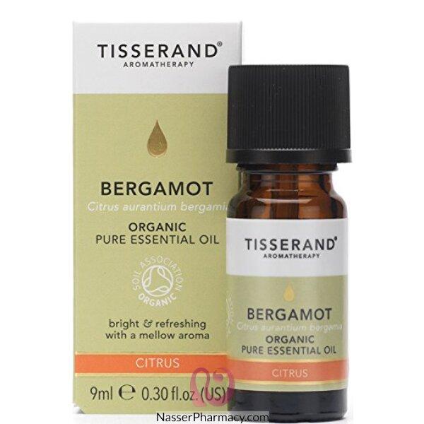 تيسراند Tisserand زيت البرغموت الأساسي العضوي  9 مل