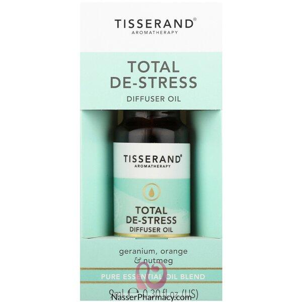 تيسراند Total De-stress زيت بخاخ معطر الجو لتخفيف التوتر 9 مل