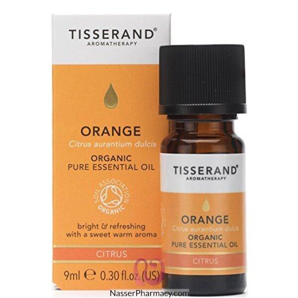 تيسيراند Tisserand زيت البرتقال الأساسي العضوي 9 مل