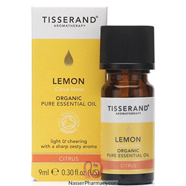 تيسيراند Tisserand زيت الليمون الأساسي العضوي 9 مل