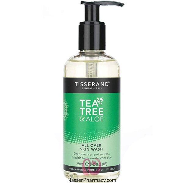 Tiss Tea Tree And Aloe Skin Wash 250ml
