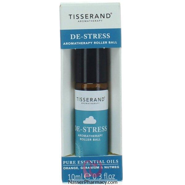 Tisserand De-stress Rollre Ball Oil - 10ml