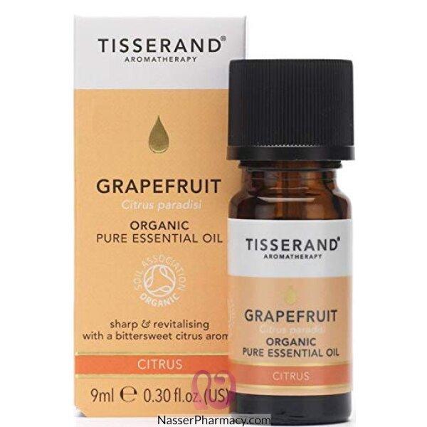Tisserand Grapefruit Organic Essential Oil - 9 Ml