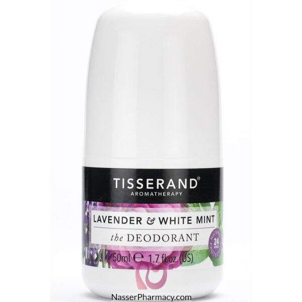 Tisserand Lavender & White Mint The Deodorant 50ml