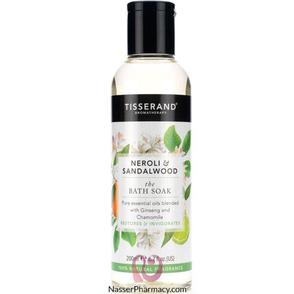 Tisserand Neroli & Sandalwood The Bath Soak 200ml