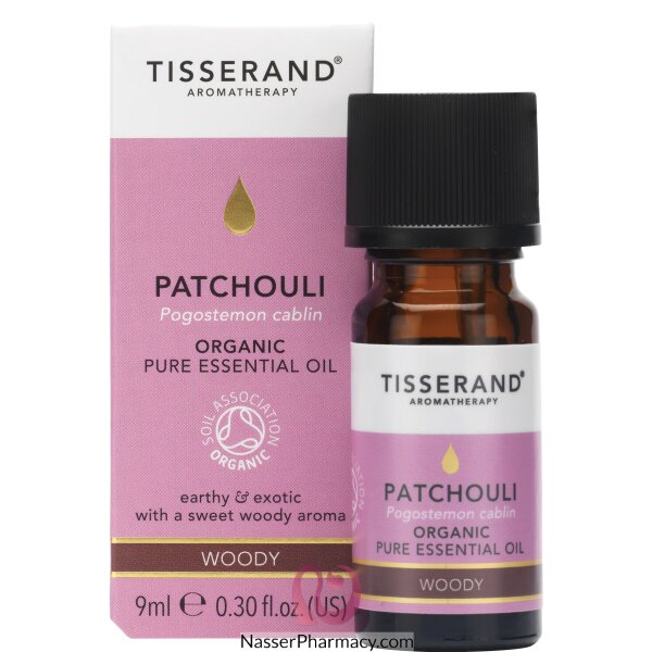 Tisserand Patchouli Organic Essential Oil - 9ml