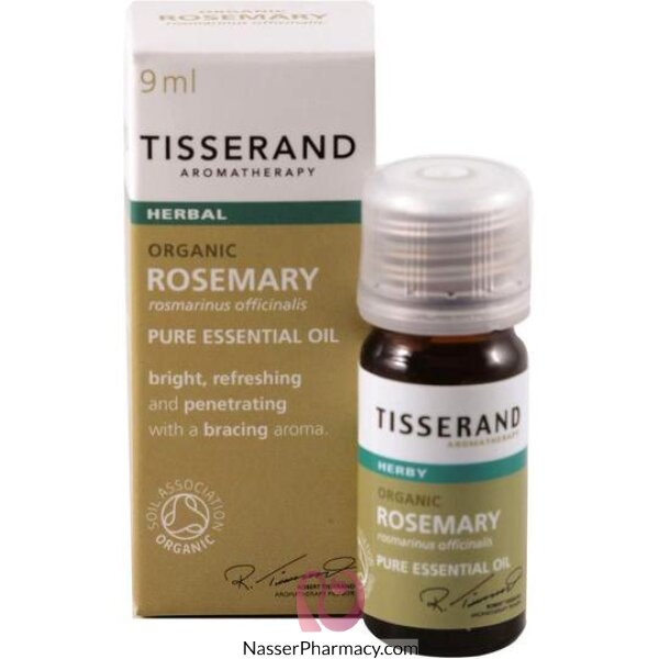 Tisserand Rosemary Organic Essential Oil 9ml