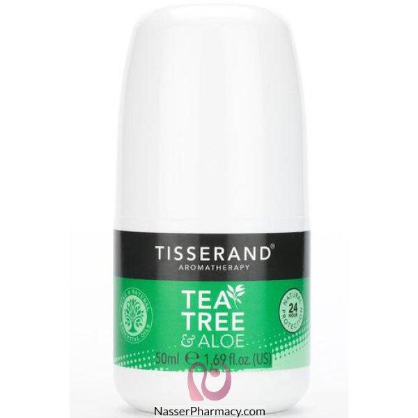 Tisserand Tea Tree And Aloe Deodorant 50ml