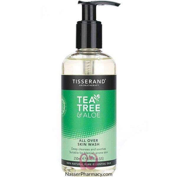 Tisserand Tea Tree And Aloe Skin Wash 250ml