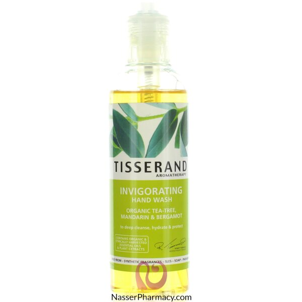 Tisserand Tea Tree & Mandarin & Bergamot Hand Wash 200ml
