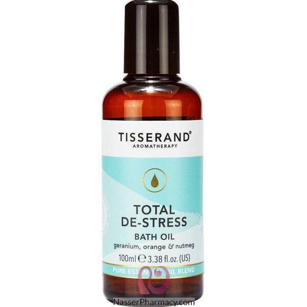 Tisserand Total De-stress Bath Oil 100ml
