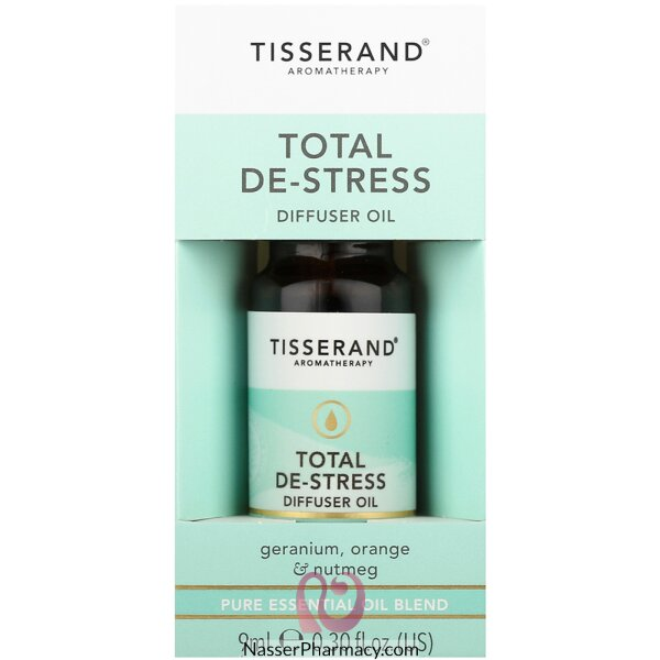 Tisserand Total De-stress Diffuser Oil 9ml