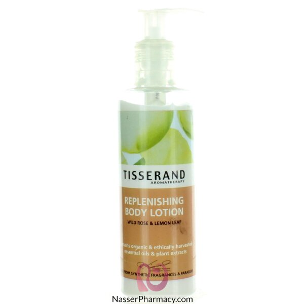 Tisserand Wild Rose&lemon Leaf Body Lotion 200ml