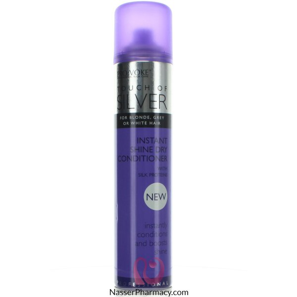 Touch Of Silver Instant Shine Dry Conditioner - 200 Ml