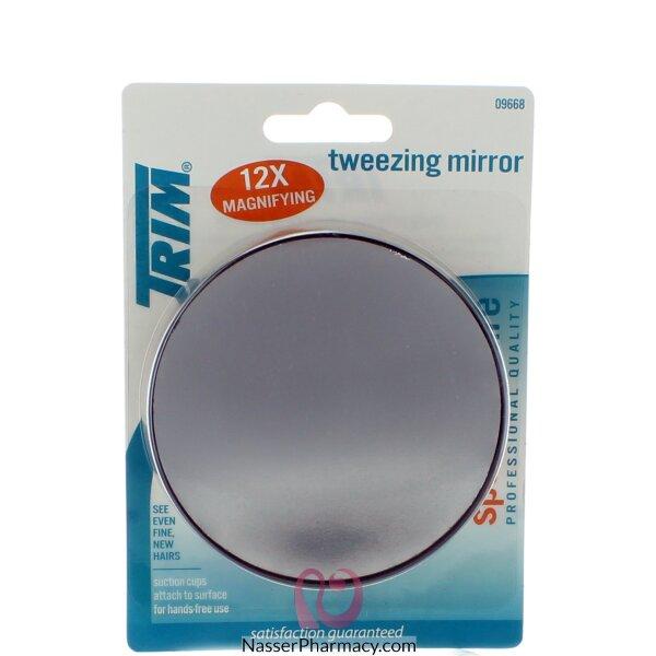 Trim 12x Tweezing Magnifying Mirror