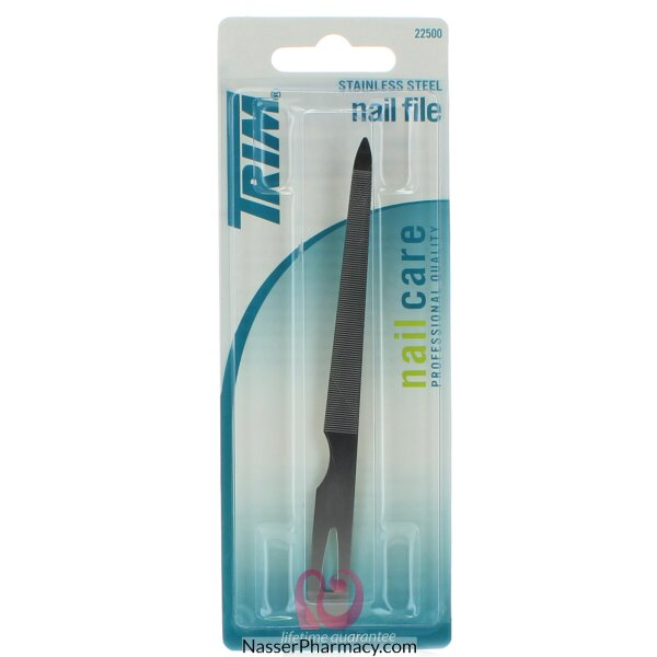 Trim Nail File Stainless Steel