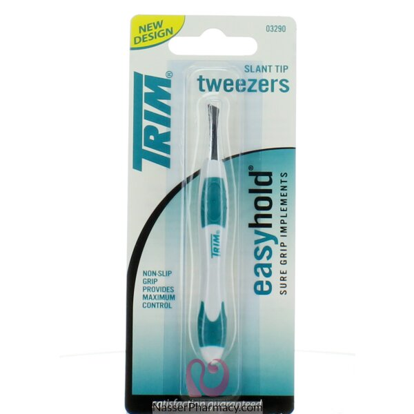 Trim Tweezers Easy Hold