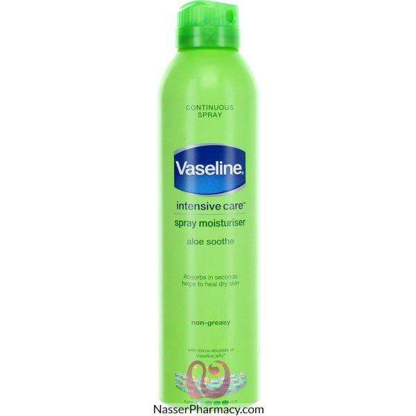 Vaseline Aerosol Lotion Aloe 190ml-52753