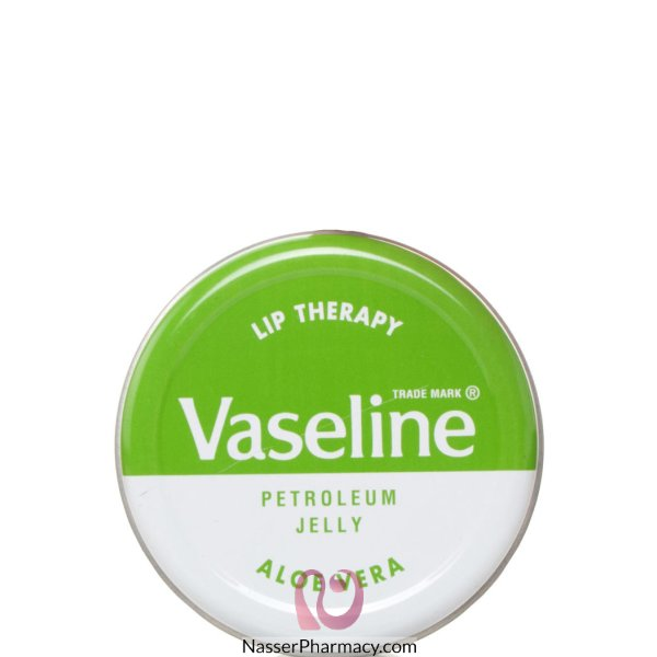 Vaseline (e) Lip Therapy Tin Aloevera 20g-16046