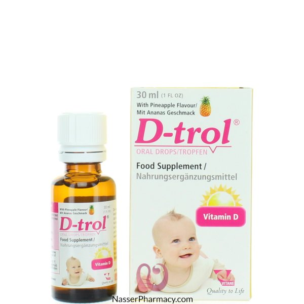 D-trol Oral Drops 30ml