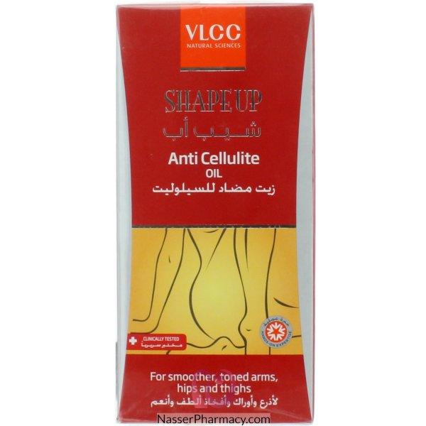 Z-vlcc Shape Up Ant Cellulite Oil 200ml