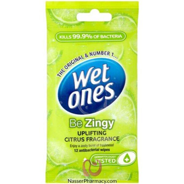 Wet Ones Be Zing Up Lift Zesty Fresh 12s-27384